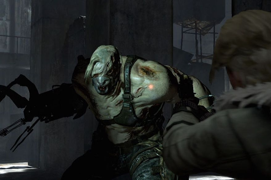 This unstoppable brute makes Sherry Birkin and Jake Muller's lives difficult  in the video game Resident Evil 6.