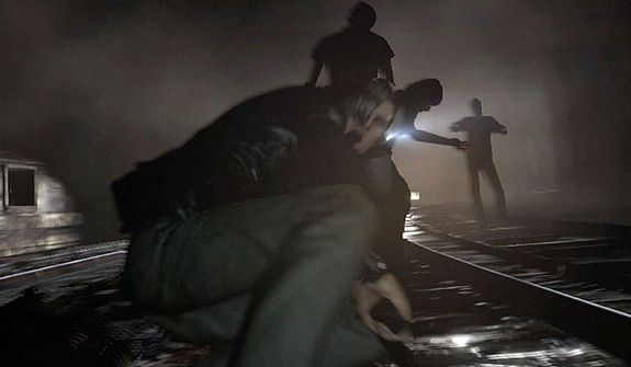 It's survival and horror for Leon Kenenedy in the video game Resident Evil 6.