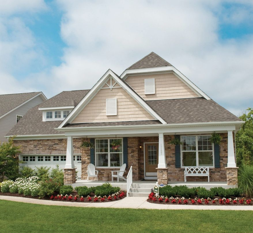 The Jasmine model at Longacre Village in Camden, Del., is one of six single-family models offered by K. Hovnanian Homes. It has from 1,866 to 2,500 square feet and is priced from $239,900.