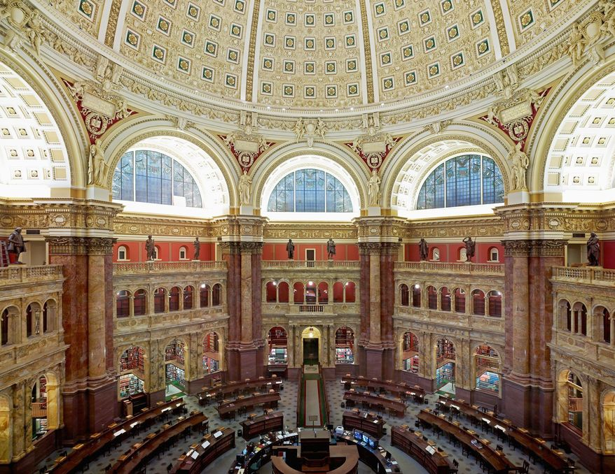 Culture: Library of Congress Main Reading Room Open House