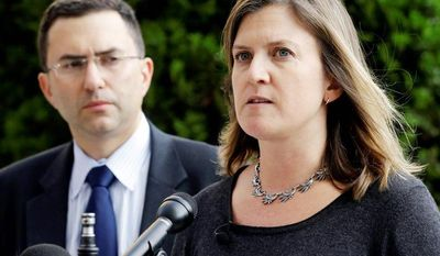 Associated Press Dr. Lucy Wilson, with fellow Maryland public health official Josh Sharfstein, holds a news conference to explain response efforts to an outbreak of meningitis that may be linked to steroid injections.