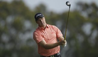 Alistair Presnell, of Australia, during the first round of the U.S. Open Championship golf tournament Thursday, June 14, 2012, at The Olympic Club in San Francisco. (AP Photo/Ben Margot)