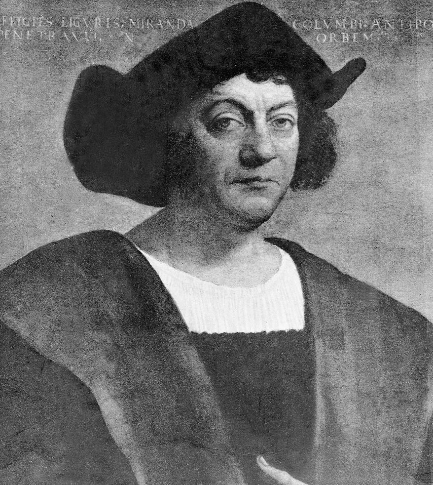 Christopher Columbus. (Associated Press) ** FILE **