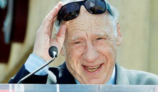 "Mel Brooks will receive the American Film Institute's Life Achievement Award. His credits include ""The Producers."" (Associated Press)"