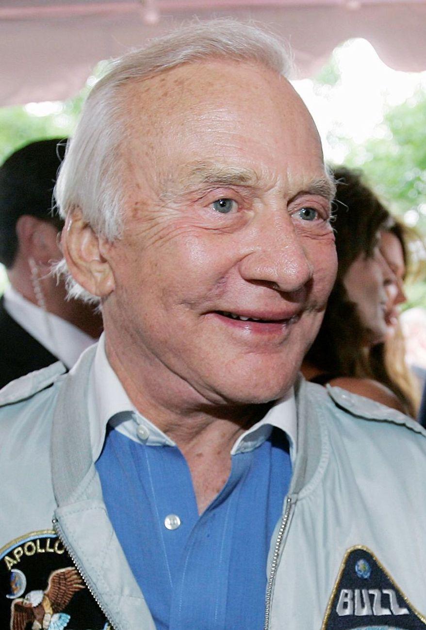 Buzz Aldrin (Associated Press)