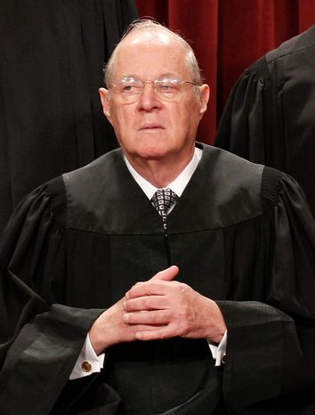 associated press Justice Anthony M. Kennedy could be a key vote in an affirmative action case. The Supreme Court begins hearing arguments Wednesday.