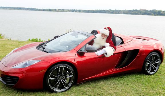 Christmas Sports Car.Neiman Marcus Offers Hen House Spider Sports Car 1m Pair
