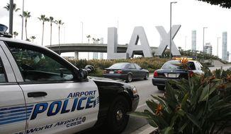 ** FILE ** Los Angeles International Airport. (AP Photo/Jason Redmond)
