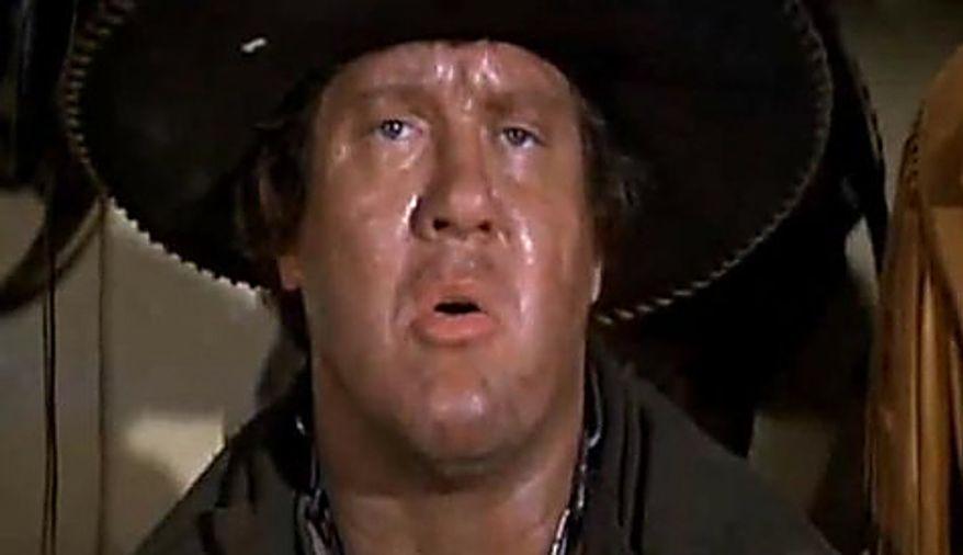 "Alex Karras appears as Mongo in ""Blazing Saddles,"" Mel Brooks' spoof on Westerns."