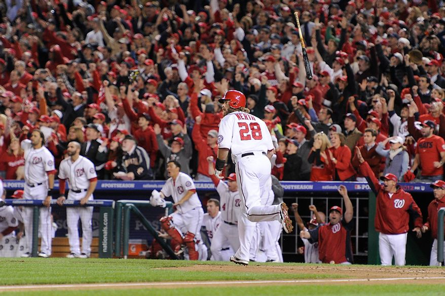 Game 4 of the National League Division Series between the Washington Nationals and the St. Louis Cardinals at Nationals Park, Thursday, October 11, 2012. (Preston Keres/Special to The Washington Times)