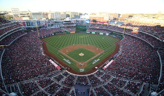 Game 4 of the National League Division Series between the Washington Nationals and the St. Louis Cardinals at Nationals Park, Thursday, October 11, 2012. (Craig Bisacre/The Washington Times)