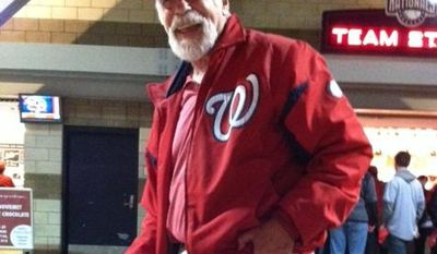 Louis Wolf, 71, Tenleytown (Meredith Sommers/The Washington Times)
