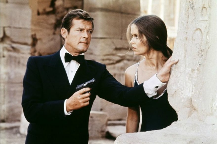 "Roger Moore stars in ""The Spy Who Loved Me"" (Courtesy MGM Home Entertainment)"