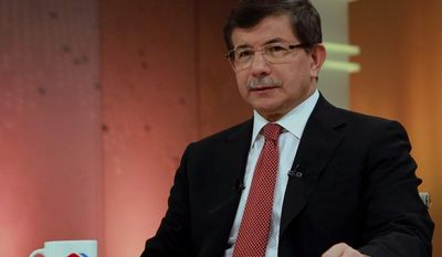 Turkish Foreign Minister Ahmet Davutoglu (AP Photo/Hakan Goktepe, Turkish Foreign Ministry)
