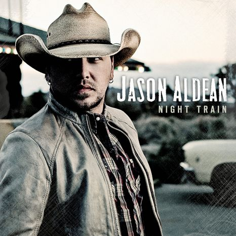 """This CD cover released by Broken Bow Records shows the upcoming album """"Night Train,"""" by Jason Aldean. The album will be released on Oct. 16. (AP Photo/Broken Bow Records)"""