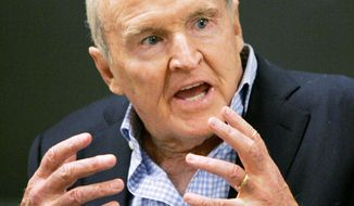 Former General Electric Chairman Jack Welch tweeted his skepticism five minutes after the Labor Department recently announced the unemployment rate had fallen to 7.8 percent in September from 8.1 percent the previous month. (Associated Press)