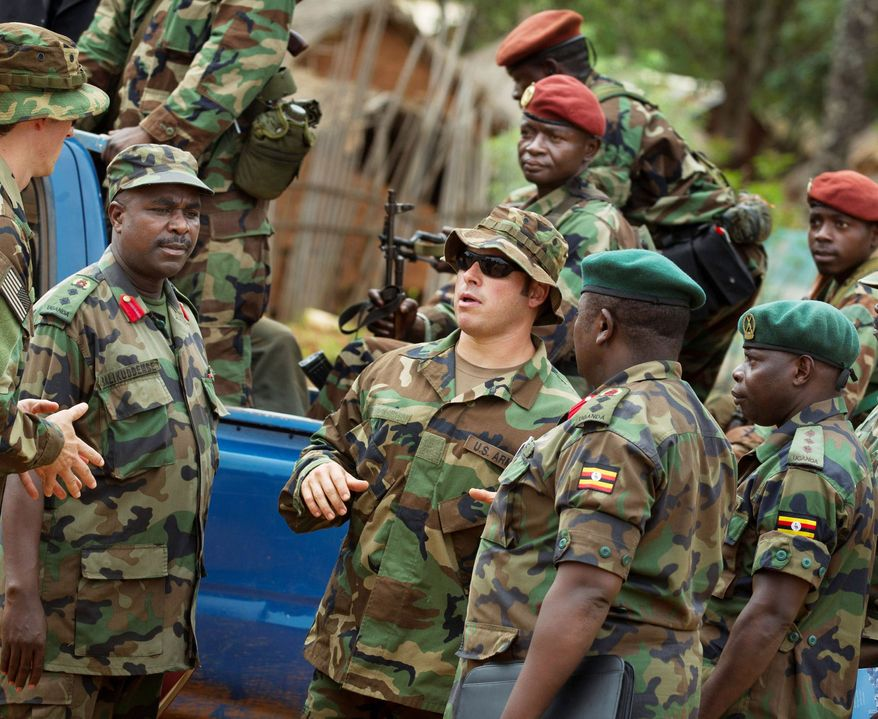 U.S. Special Forces have paired with local troops and Ugandan soldiers in the Central African Republic to help find fugitive Joseph Kony, whose Lord's Resistance Army has been raping, pillaging and plundering villages across the region. (Associated Press)