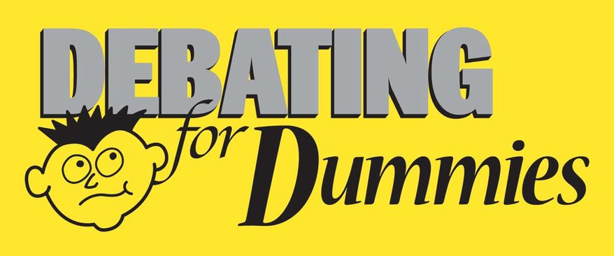 debating-for-dummies-logo - washington times