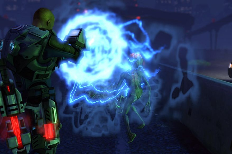 Stun a Sectoid in the video game XCOM: Enemy Unknown.