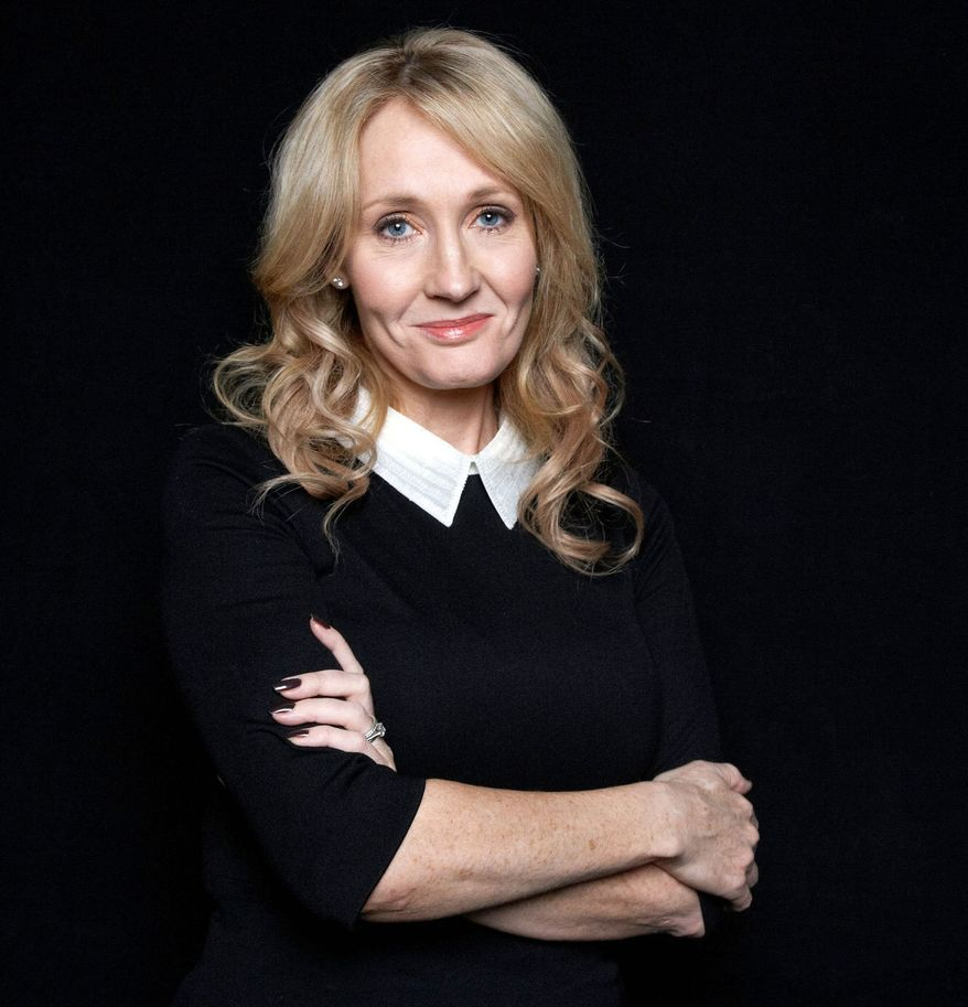 J.K. Rowling (AP Photo)