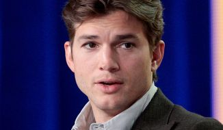 Ashton Kutcher (Associated Press) ** FILE **