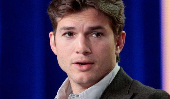 Ashton Kutcher (Associated Press) ** FILE **