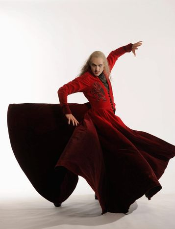 """The ballet presentation of """"Dracula"""" is pegged as a fresh interpretation of the classic story. It runs through Nov. 4 at the Kennedy Center."""