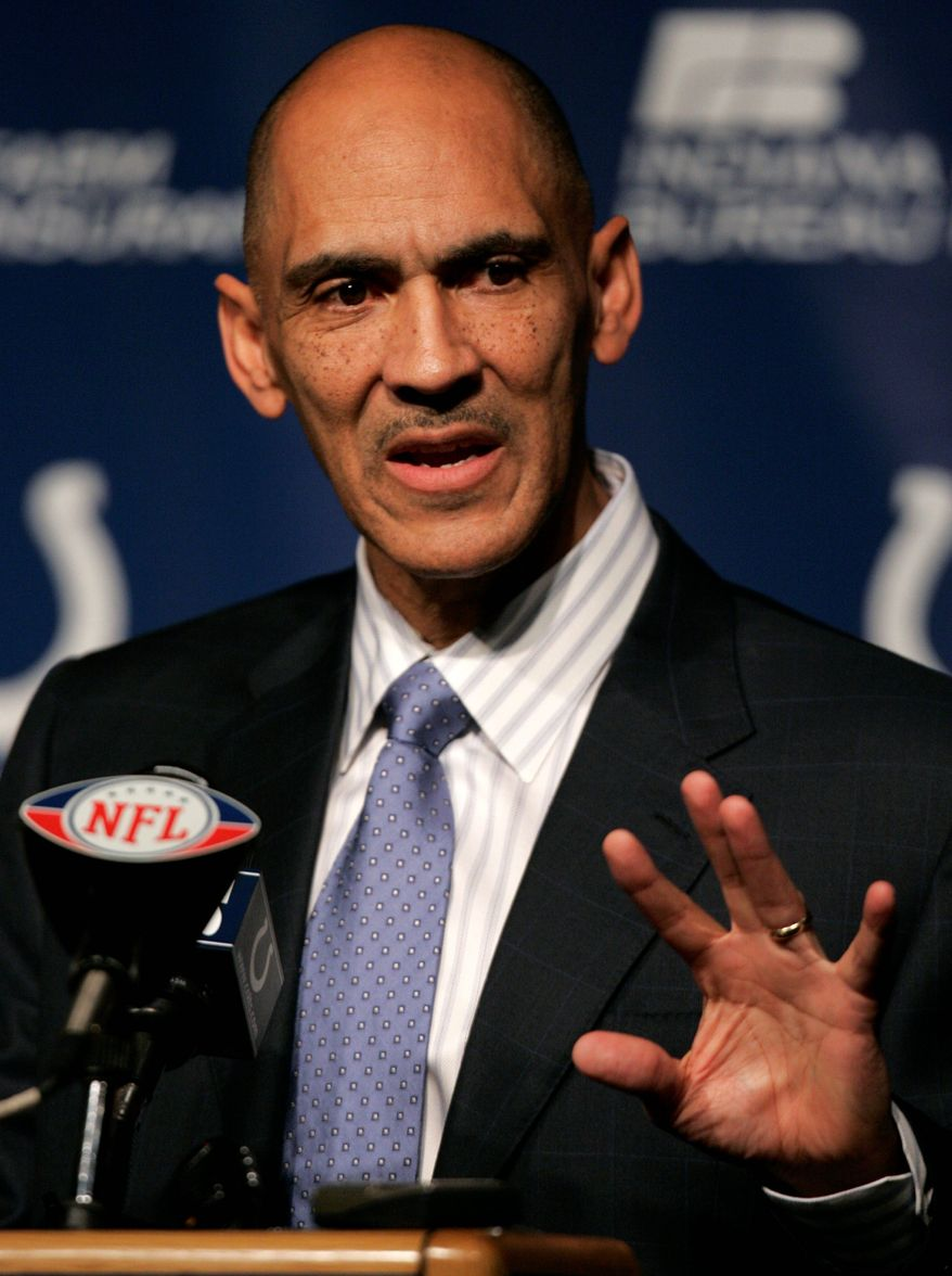 **FILE** Former NFL coach Tony Dungy (Associated Press)