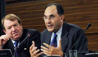 Alejo Vidal-Quadras of Spain, a vice president of the European Parliament. (Associated Press)