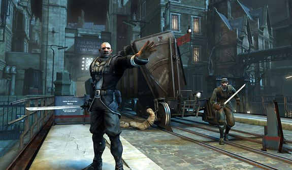 Dynamic Victorian locations greet the player as he fights and sneaks around in the video game Dishonored.