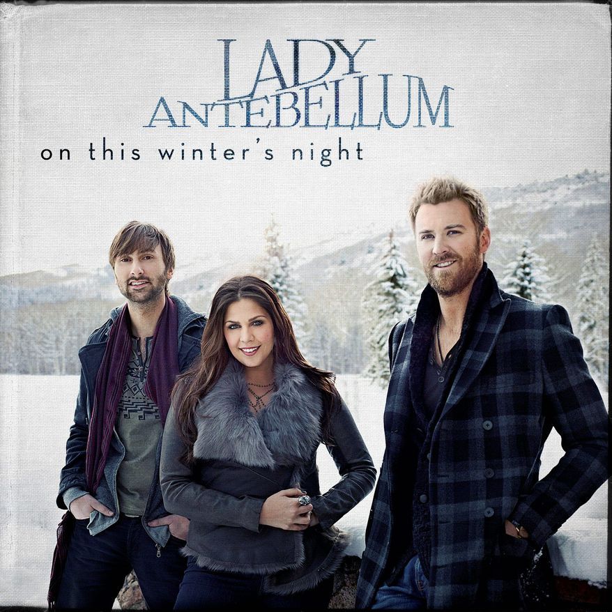 """Cover art for Lady Antebellum's """"On This Winter's Night"""""""