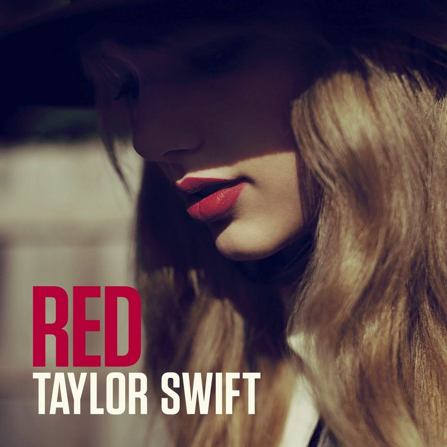 """This CD cover image released by Big Machine Records shows the latest album by Taylor Swift, """"Red."""" (AP Photo/Big Machine Records)"""