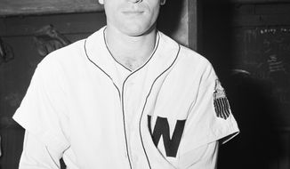 Eddie Yost Washington third baseman in Washington on June 30, 1947. (AP Photo/HWG)