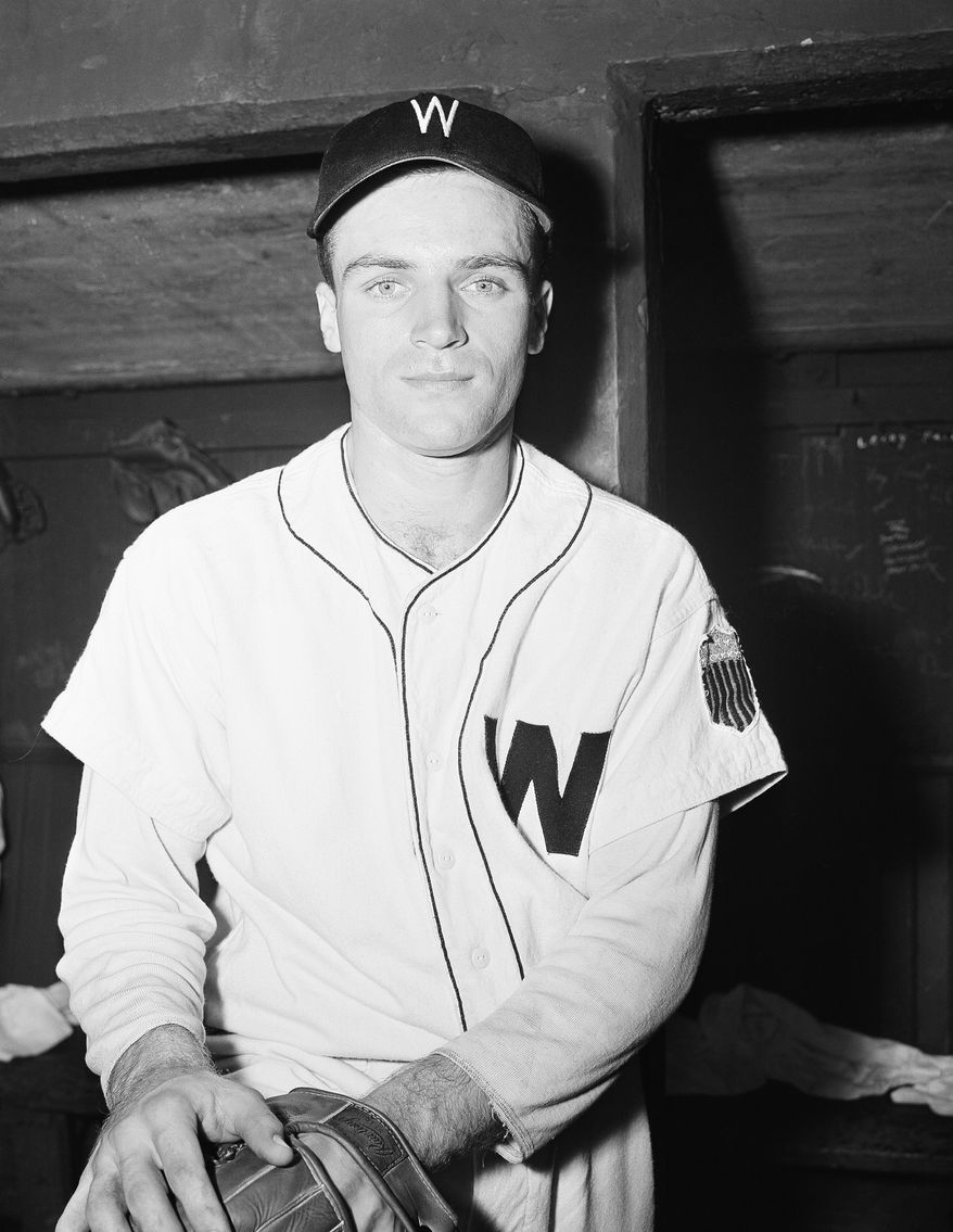 Eddie Yost Washington third baseman in Washington on June 30, 1947. (AP Photo/HWG)