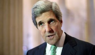 Sen. John F. Kerry, Massachusetts Democrat, is chairman of the Senate Foreign Relations Committee. (Associated Press)