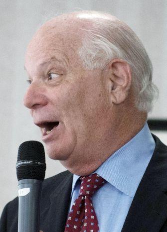Sen. Benjamin L. Cardin, Maryland Democrat, has a big lead over his challengers, polls show. (Rod Lamkey Jr./The Washington Times)