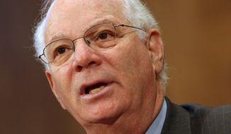 **FILE** Sen. Benjamin L. Cardin, Maryland Democrat (Associated Press)