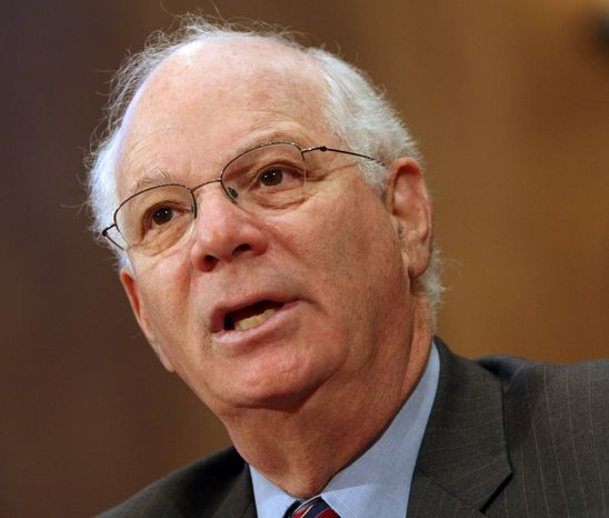 **FILE** Sen. Benjamin L. Cardin, Maryland Democrat (Associated Press)