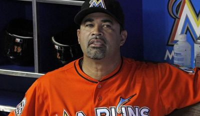 The Miami Marlins relieved manager Ozzie Guillen of his duties Tuesday after a year that saw the team go 69-93 and finish last in the National League East. (AP Photo/Alan Diaz)
