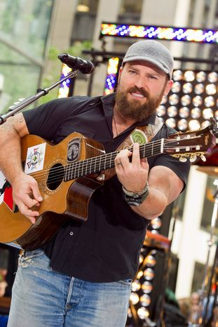 """**FILE** Zac Brown of the Zac Brown Band performs July 13, 2012, on NBC's """"Today"""" show in New York. (Charles Sykes/Invision/Associated Press)"""