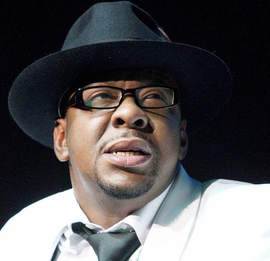 Bobby Brown was booked on a DUI charge early Wednesday in L.A. (Associated Press)