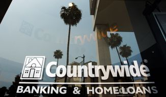 Countrywide Financial Corp. is accused of loosening its standards for making loans while telling Fannie Mae and Freddie Mac, which were buying loans from Countrywide, that the standards were getting tighter. (Associated Press)