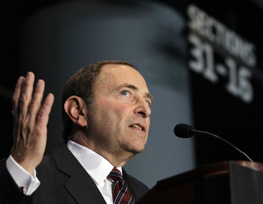 Gary Bettman (Associated Press)