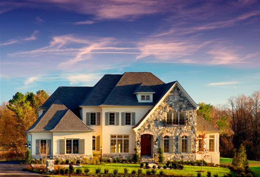 Basheer & Edgemoore is building single-family homes at Maymount in Vienna. The Innsworth model, priced from $1,639,000 to $1,689,000, has four bedrooms, four full baths and a powder room.
