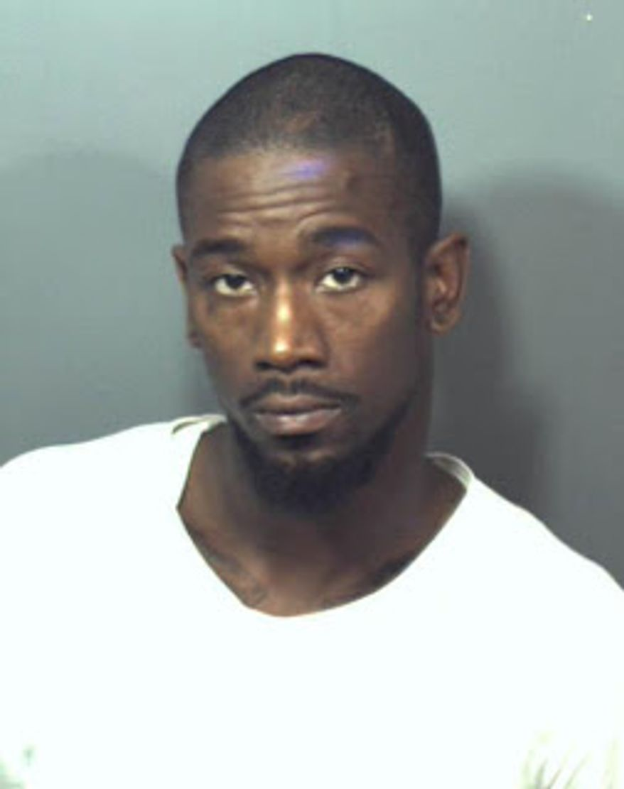 Michael Deangelo Briscoe. Photo from Prince George's County police.