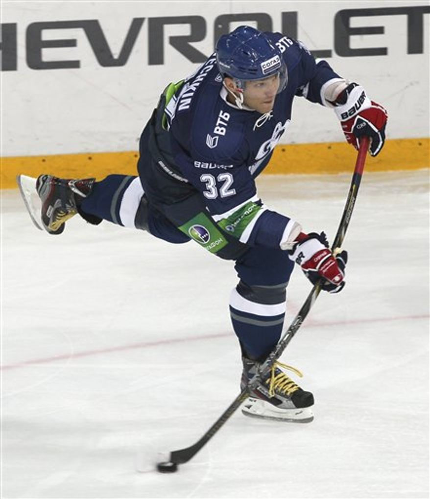 Alex Ovechkin (AP Photo/Alexander Safonov)