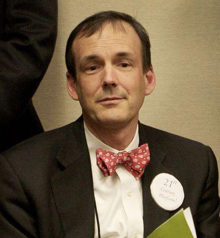 Charles Munger Jr. has given $35 million toward a ballot measure to undercut the power of public-employee unions. (Sacramento Bee via Associated Press)