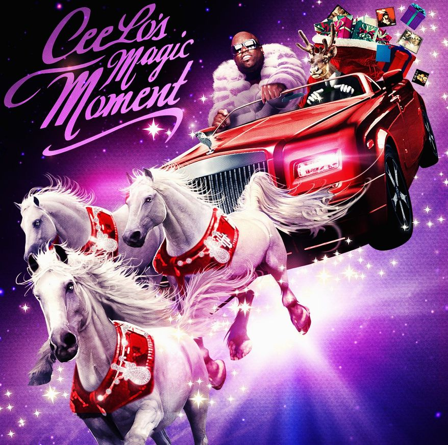 "Album cover for ""CeeLo's Magic Moment""."