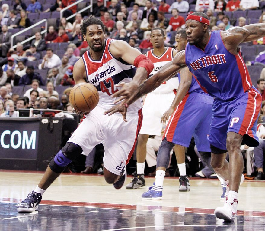 The Wizards were 7-4 with Nene on the court last season after he was acquired from Denver at the trading deadline. (Associated Press)