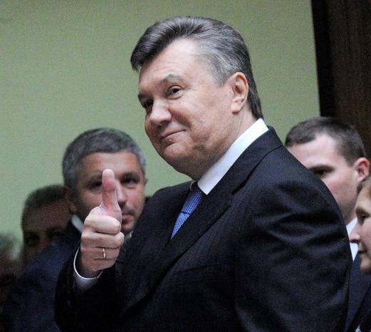 Viktor Yanukovich (AP photo)